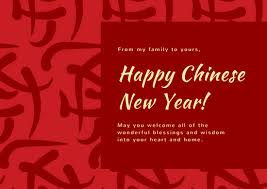 lunar new year photo cards illustrated new year card templates by canva