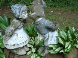 103 best lawn ornaments images on lawn ornaments