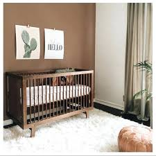 ouef cribs our walnut sparrow crib making an appearance in this