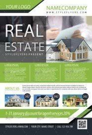 real estate flyers templates free free real estate flyer psd templates download styleflyers