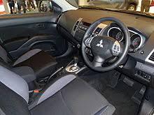 Mitsubishi Outlander Sport 2013 Interior Mitsubishi Outlander Wikipedia