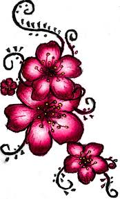 gorgeous cherry blossom tattoo design real photo pictures