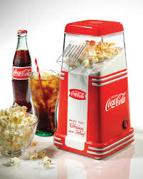 rhp310coke coca cola series mini air popcorn maker