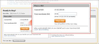 buy and bid ebay motors how to buy a vehicle bid