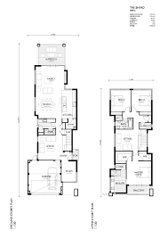 Narrow Block Floor Plans 81b Ardross Street Applecross Home U0026 Land Package Webb
