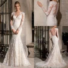 china boat collar long sleeve applique lace bridal wedding dress