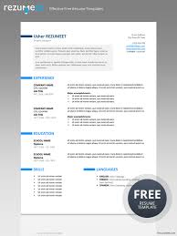 free professional resume template ueno professional resume template
