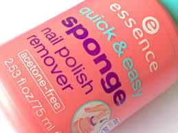 essence quick u0026 easy sponge nail polish remover review