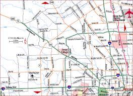 houston map jersey road map of metro houston northwest houston