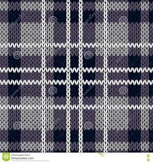 muted purple knitting checkered seamless pattern mainly in muted violet hues