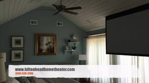 home theater in wall home theater in master bedroom hilton head u0026 bluffton audio