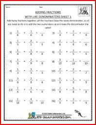 christmas fractions worksheets free printable fraction