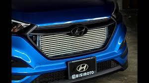 hyundai tucson 2014 blue dia show tuning hyundai tucson bisimoto engineering 700ps youtube