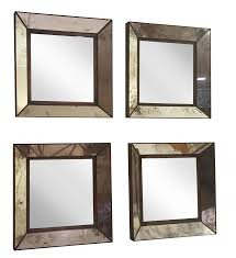 Crate And Barrel Dubois Mirror by Small Square Wall Mirrors 4 Chairish