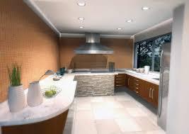 modern kitchen design dark grey floor tiles has modern kitchen