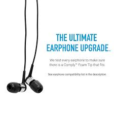 amazon com comply foam premium earphone tips isolation t 400