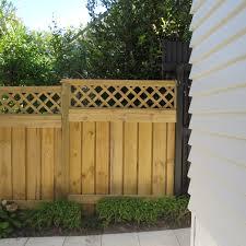 trellis topped fence mccarthy fences
