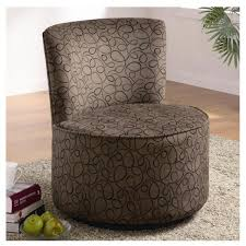 Swivel Chairs Living Room Upholstered by Aesthetic Swivel Chairs Living Room Using Round Metal Chair Base