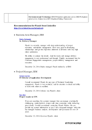 Sle Resume For 10 Years Experience it professional resume cover letter