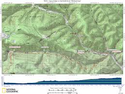 Philmont Scout Ranch Map Philmont Itinerary For Expedition 709 N1 Power Rangers Troop