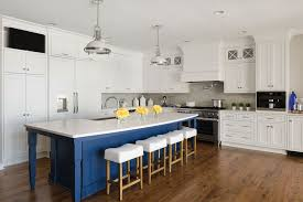 white kitchen cabinets with blue island national kitchen bath association design awards midwest home