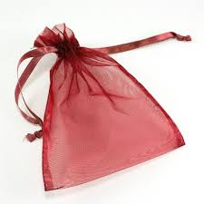 pink organza bags maple craft sheer organza bags with drawstrings 5 x 6 5 pack