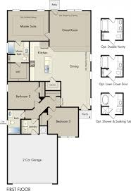 Energy Efficient Homes Floor Plans Homes Rausch Coleman Homes