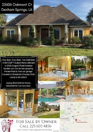 Oasis Map Greystone Oasis 25606 Oakmont Ct Denham Springs La