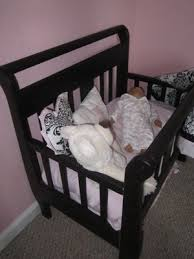 Free Wooden Baby Doll Cradle Plans by Best 25 Baby Doll Crib Ideas On Pinterest Baby Doll Carrier