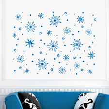 aliexpress com buy beautiful frozen snowflake snow wall decals aliexpress com buy beautiful frozen snowflake snow wall decals window decor home decorative merry christmas wall sticker y 731 from reliable christmas