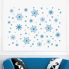 aliexpress com buy beautiful frozen snowflake snow wall decals