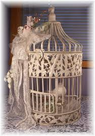 Shabby Chic Bird Cages by Moore Art From The Heart Vintage Shabby Chic Birdcage