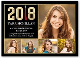 graduation photo announcements square unique graduation announcement shutterfly