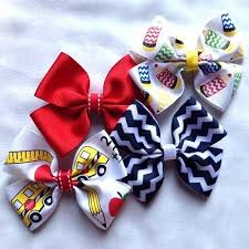 back to school hair bows 22 best coordinating school hair accessories images on