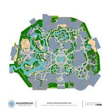 Tumbleweed Park Map Sydney Disneyland Resort A Project By Club 32 Wdwmagic