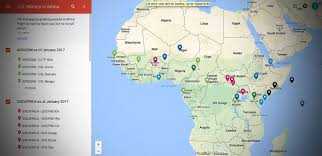 Map Of Uganda Africa by A Guide To The Pentagon U0027s Shadowy Network Of Bases In Africa The