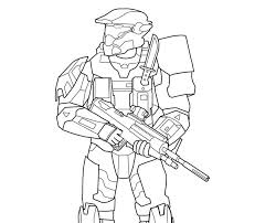 halo coloring pages coloringpagesonly