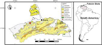Map Of Venezuela A New Mourasuchus Alligatoroidea Caimaninae From The Late