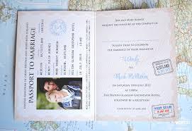 wedding invitations glasgow passport wedding invites wedfest