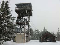 snowshoe to clear lake lookout tower roughing it pinterest