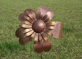 metal flowers large metal sunflower metal flower stake garden flowers flower
