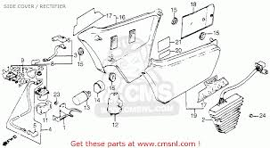 honda vf750c magna 1983 d usa side cover rectifier schematic