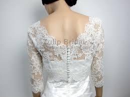 dress and jacket for wedding lace bolero wedding jacket wj004