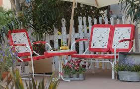 Vintage Redwood Patio Furniture - retro metal outdoor chair fair patio furniture vintage atme
