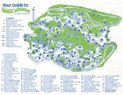 Six Flags Magic Mountain Directions Popular 211 List Disney Monorail Map