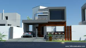 3d front elevation com 8 marla house plan layout elevation
