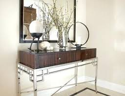 Glass Entry Table Modern Glass Entry Table The And Style Brilliant With 8