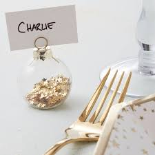make christmas place card holders christmas lights decoration