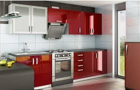 les meubles de cuisine aménagée moderne laqué nérou