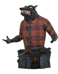 halloween busts jun172628 nbx wolfman resin bust previews world